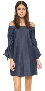 Tibi short dress Blue Black Halo Dvf Tory Burch on Tradesy