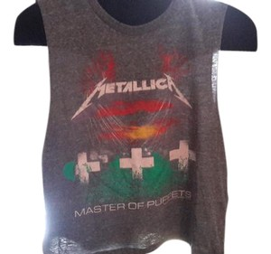 Other Festival Crop Vintage Music Tee Metallica T Shirt