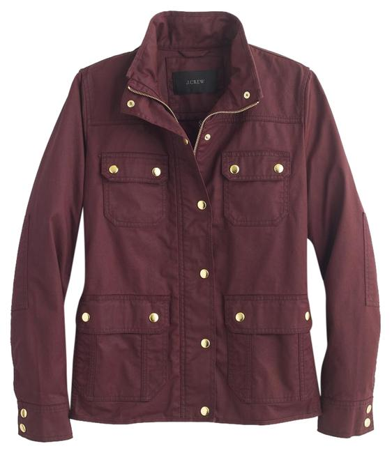 Item - Deep Burgundy Field Jacket Size Petite 4 (S)