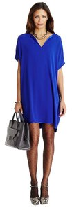 Diane von Furstenberg short dress Blue Tory Burch Dvf Parker on Tradesy
