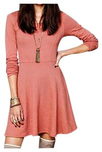 Free People short dress Coral Pink 1st, 2nd & last photo best match on Tradesy