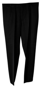 Hugo Boss Mens Parker-x Charcoal Grey Regular Fit Trouser/Wide Leg Jeans-Dark Rinse