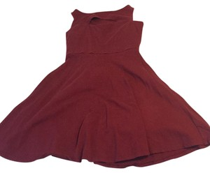 Xhilaration short dress Maroon on Tradesy