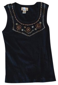 Uniform John Paul Richard Top black with wooden beads