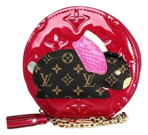 Louis Vuitton Animania Wristlet in Red