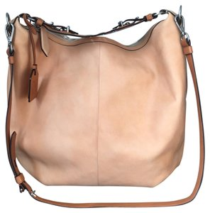 Reed Krakoff Leather Cadet Satchel in Blush peach Reed Krakoff