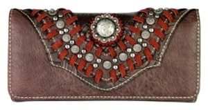 Montana West MW336-W002 Montana West Concho Collection Wallet