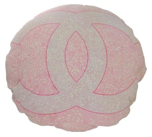 Chanel Chanel Rare Collectors Pink & White CC Cushion/ Dog Pillow
