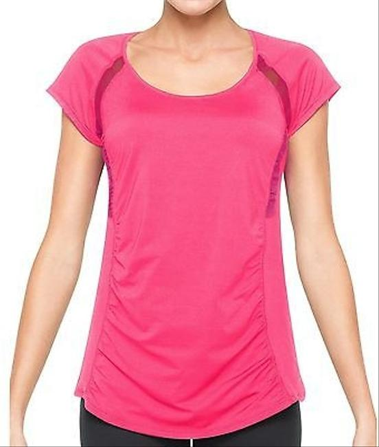 Spanx Active Short Sleeved Top Cheeky Pink 80%OFF