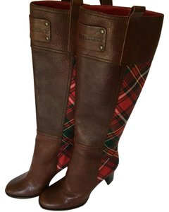 Burberry leather boots Brown Boots