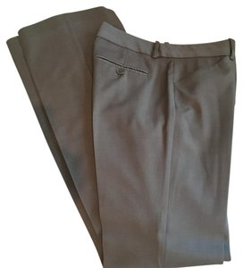 Theory Boot Cut Pants Taupe / Beige