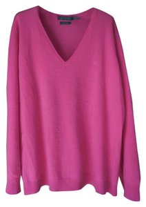 Lauren Ralph Lauren Cashmere V-neck Plus-size Sweater