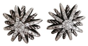 David Yurman David Yurman Starburst Earrings with Diamonds