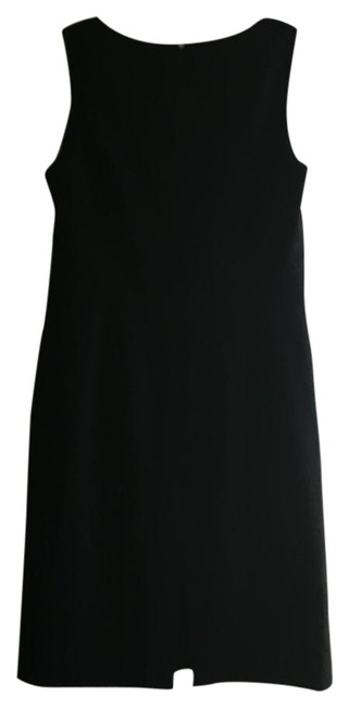 Preload https://img-static.tradesy.com/item/19084705/ann-taylor-black-fitted-above-knee-workoffice-dress-size-petite-4-s-0-1-650-650.jpg