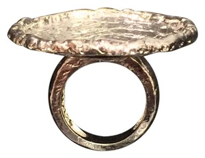 Erica Anenberg Oversized Hammered Cocktail Ring