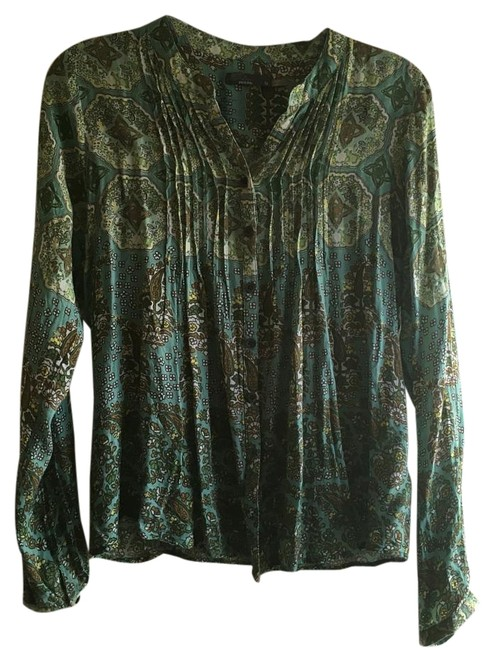 Preload https://item4.tradesy.com/images/prana-teal-blouse-size-8-m-19084828-0-1.jpg?width=400&height=650
