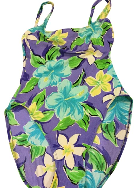 Preload https://item3.tradesy.com/images/adrienne-vittadini-one-piece-bathing-suit-size-10-m-19085047-0-1.jpg?width=400&height=650