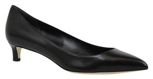 Gucci Pointed Toe Leather Black Pumps