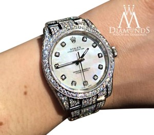 Rolex New Style Rolex Oyster Perpetual 15 COG diamonds micro pave Style