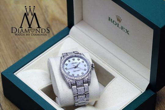 Rolex New Style Rolex Oyster Perpetual 15ct diamonds micro pave Style