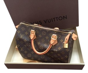 Louis Vuitton Speedy 30 Like New Monogram Storage Satchel