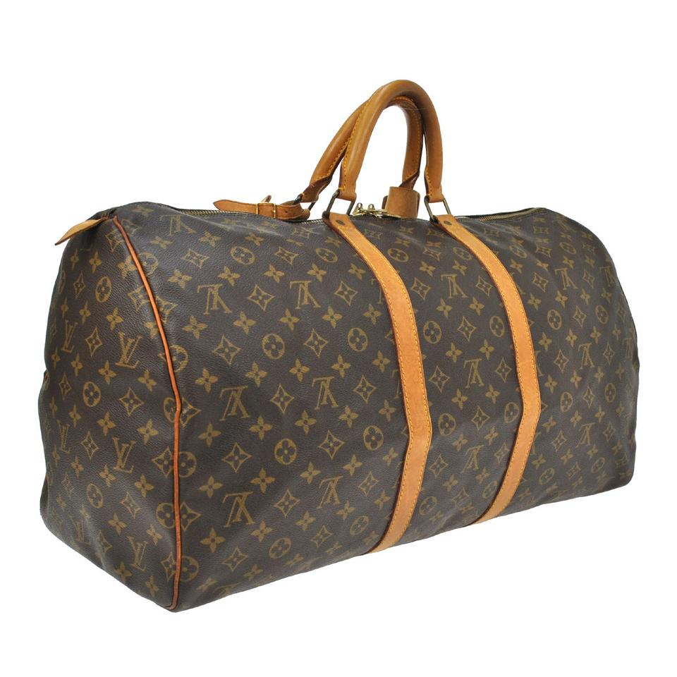 louis vuitton keepall weekend travel bag tradesy. Black Bedroom Furniture Sets. Home Design Ideas