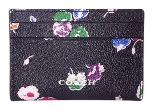 Coach Coach Wildflower Card Case