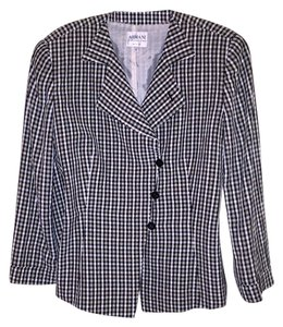 Armani Collezioni Armani Collezioni checked lightweight suit
