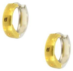 Other 14K Two Tone Gold Hoop Earrings 12.0 Grams