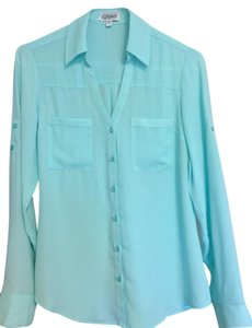 Express Top Mint Green