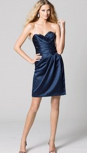 Wtoo Navy Blue Size 8 368 Dress