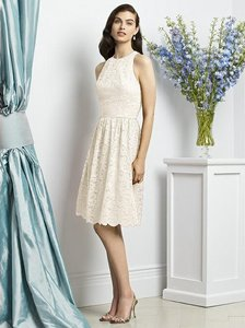 Dessy 2939 Marquis Lace Bridesmaid/Mob Dress Size 6 (S)
