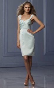 Wtoo Seamist Satin and Chiffon 469 Bridesmaid/Mob Dress Size 12 (L)