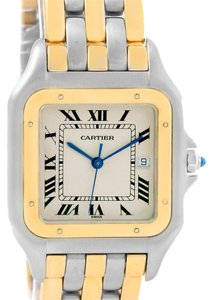 Cartier Cartier Panthere Jumbo Steel 18K Yellow Gold Three Row Unisex Watch