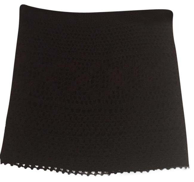 Pins and Needles Mini Skirt Black