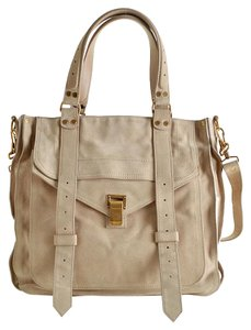 Proenza Schouler Newyork Sheek Suede Tote in brown