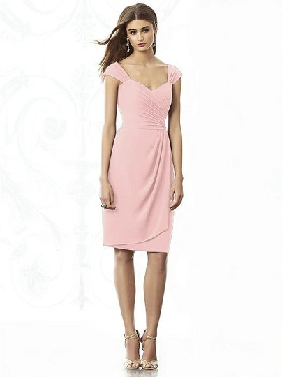 After Six Rose Nu-georgette 6687 Bridesmaid/Mob Dress Size 12 (L)