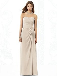 After Six Cameo Lux Chiffon 6690 Bridesmaid/Mob Dress Size 10 (M)
