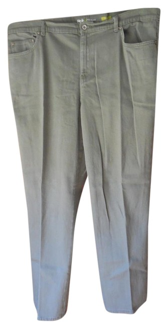 Preload https://item4.tradesy.com/images/style-and-co-green-easy-5-pocket-straight-leg-pants-size-20-plus-1x-19086673-0-1.jpg?width=400&height=650