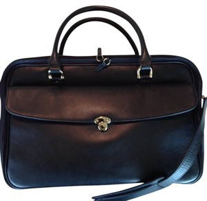 Montblanc Leather Logo Emblems Laptop Bag