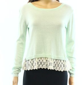 Wild Pearl Cotton Boat Neck Long Sleeve New With Tags 3300-1931 Sweater