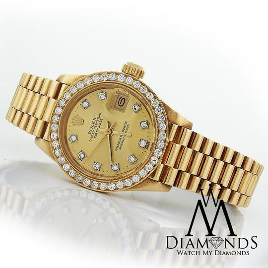 Rolex Rolex 18K Yellow Gold President 31mm Midsize Diamond Presidential
