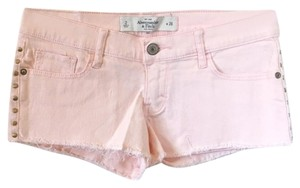 Abercrombie & Fitch & Low Rise Studs Shorts Pink,