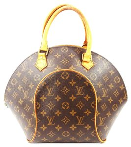 Louis Vuitton Sac Plat Tote Monogram Shoulder Bag