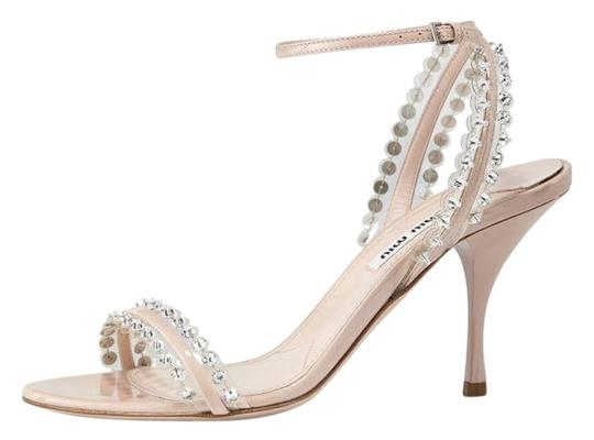 Preload https://item1.tradesy.com/images/miu-miu-nude-patent-jeweled-ankle-wrap-in-cipria-sandals-size-us-85-19087840-0-2.jpg?width=440&height=440