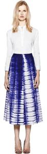 Tory Burch Lela Rose Isabel Marant Rebecca Taylor Elizabeth And James Haute Hippie Skirt Blue