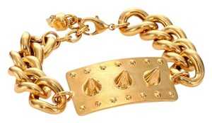 Alexander McQueen New stud and skull chain bracelet