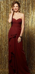 Wtoo Merlot Burgundy Wine 596 Dress