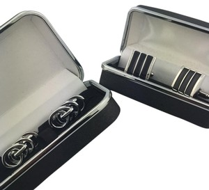 Two pairs of cuff links Silverton Modern Cuff Links 2 pairs