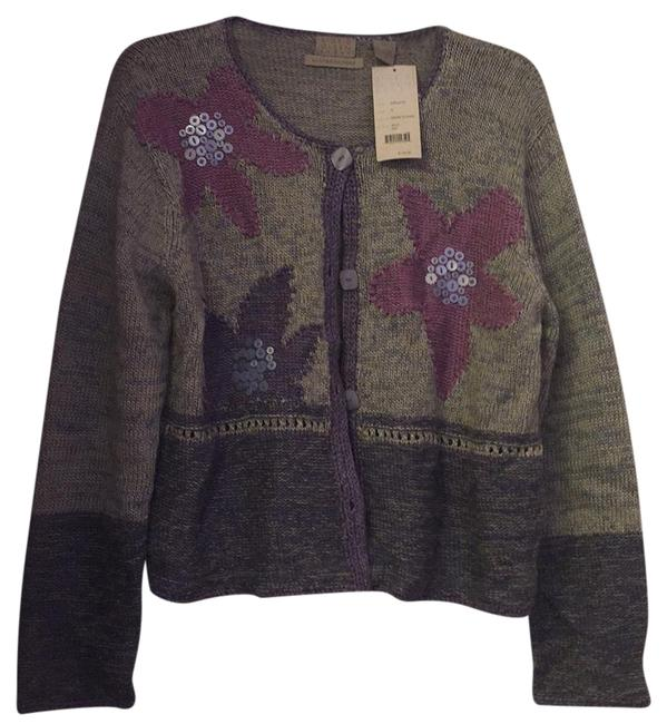 Preload https://item3.tradesy.com/images/sigrid-olsen-hand-knitted-sweater-cardigan-size-petite-12-l-19089232-0-1.jpg?width=400&height=650